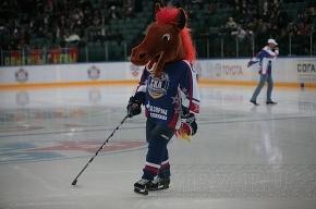 СКА победил в скучном хоккее