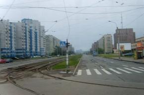 Перекрёсток Косыгина и Наставников погряз в ремонте