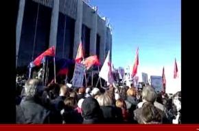 На митинг в защиту Петербурга пришло 3 000 горожан