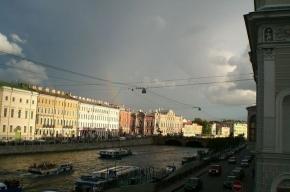 Дожди в Петербурге не прекратятся как минимум неделю