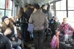 Фоторепортаж: «Не убирайте трамвай с Косой линии!»