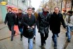 Фоторепортаж: «Четверо нацболов все-таки дошли до «Ленэкспо»»