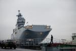 Французский вертолетоносец прибыл в Петербург: Фоторепортаж