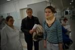 Фоторепортаж: «Больница имени Мечникова заполнена пострадавшими с «Невского экспресса»»