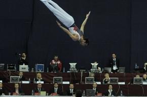 Прыжки на батуте: Россиянин Дмитрий Ушаков прошел квалификацию чемпионата мира