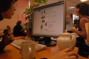 70 процентов офисных работников отдыхают в социальных сетях