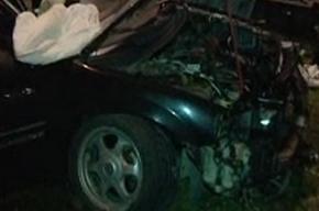 Пьяный водитель на «Саабе» протаранил пять припаркованных машин на Комендантском