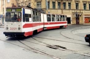 По Петергофскому шоссе временно не будут ходить трамваи