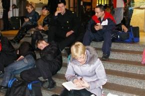 Чтобы узнать причину задержки движения поезда пассажиры использовали мобильную связь