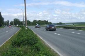 ДТП с участием восьми машин заблокировало движение на КАД