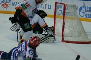 Максим Соколов признан лучшим игроком в матче «Северсталью»