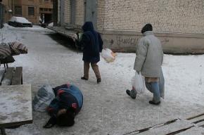 Бездомных будут греть на Боровой