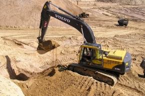 Во Всеволожском районе незаконно добывали песок