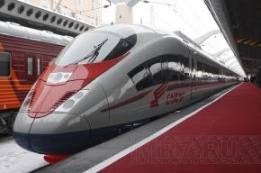 Началась продажа билетов на высокоскоростной поезд «Сапсан»