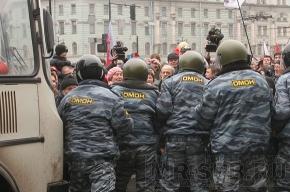 На «Русском марше» не обошлось без потасовки