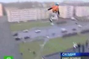 Смертельно опасный прыжок с крыши в Автово
