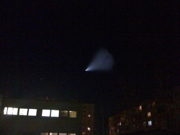 Над Екатеринбургом тоже видели НЛО: Фото