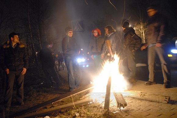 Митинг. Муринцы живут на бочке с порохом: Фото