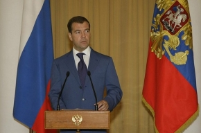 Дмитрий Медведев подведет итоги года в прямом эфире