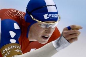 В четвертом этапе Кубка мира по конькобежному спорту россиянин завоевал серебро