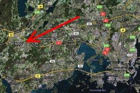 Человек в черном устроил стрельбу в торговом центре недалеко от Хельсинки