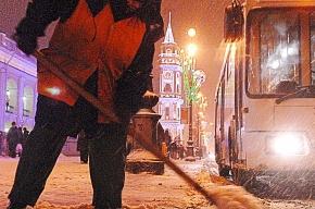 Из-за снегопада на метро пересело около 100 тысяч петербуржцев