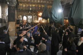 В Храме Рождества в Вифлееме подрались монахи