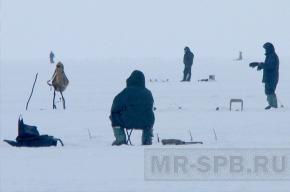 В Ленобласти запрещен выход на лед