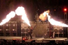 На петербургском концерте Rammstein никакого пиротехнического шоу не будет
