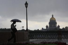В Петербурге в первый день зимы пройдет дождь