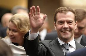 Медведев встретился с президентом Хорватии