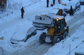 За сутки из города вывезено 86 тысяч кубометров снега