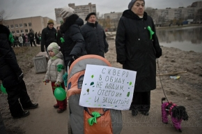 Экс-депутат: «Митинги в защиту сквера выгодны сетевикам, чтобы построить очередной супермаркет»