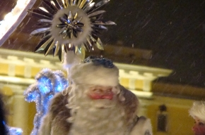 Как Дед Мороз елку зажигал