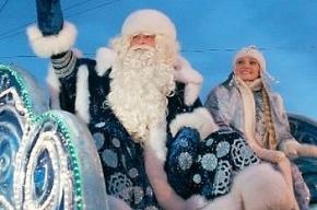 Дед мороз в Петербург прибыл с опозданием