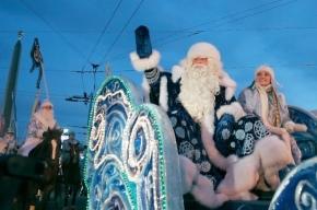 Дед Мороз проедет по Невскому проспекту на инновационных санях