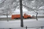 У снегоуборщиков приличных слов не осталось: Фоторепортаж
