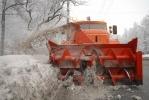 Фоторепортаж: «У снегоуборщиков приличных слов не осталось»