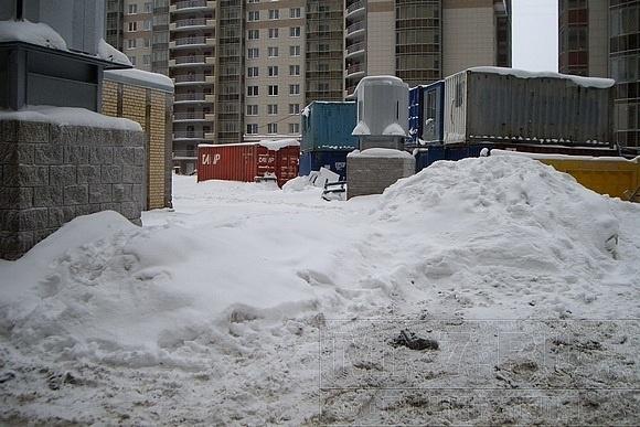 Байки замученного снегом водителя: Фото
