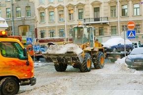 С Петроградки за выходные вывезли 40 тысяч кубометров снега