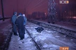 ЧП в Шушарах - поезд, вероятно, сбил гастарбайтеров