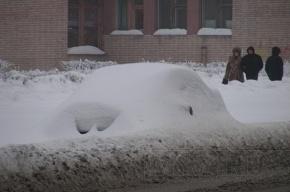 График снегоуборки в Петербурге в ночь с 26 на 27 января