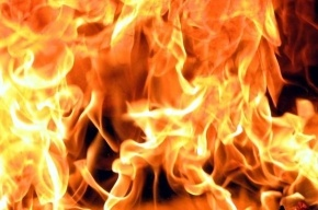 Из-за неосторожного обращения с огнем сгорел детский дом