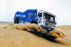 «Дакар»: грузовик Чагина побывал «невидимкой»