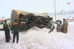 Колтушское шоссе: одна из пассажирок 531-й маршрутки получила повреждения средней тяжести