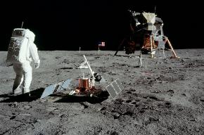 На Луне появился охраняемый исторический памятник штата Калифорния