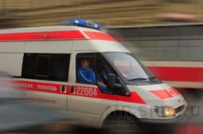 В Купчино маршрутка сбила двух школьниц