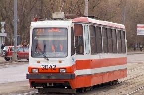 Трамвайный парк в Невском районе залило водой