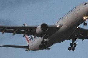 В двигатель самолета летевшего в Швейцарию попала птица