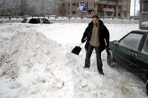 Байки замученного снегом водителя